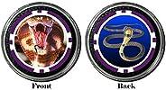 Card Guard - King Cobra Snake Protector Holdem Poker Chip/Card Cover