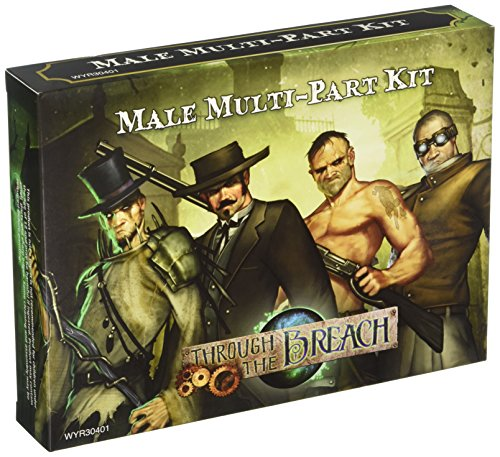 Wyrd Miniatures Malifaux Through The Breach Male Multi-Pose Figures Model ()