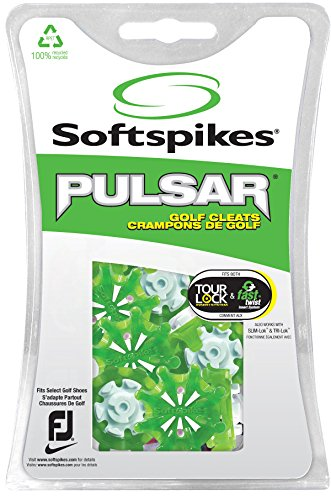 Softspikes Pulsar Tour Lock Cleat - One Replacement Set - (Replacement Spikes Cleats)