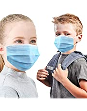Kids & Children Face Masks - Made in Canada - 3 Layered - LEVEL-3 - Perfect for Indoor and Outdoor use - CKDCARES Pediatric Disposable Masks
