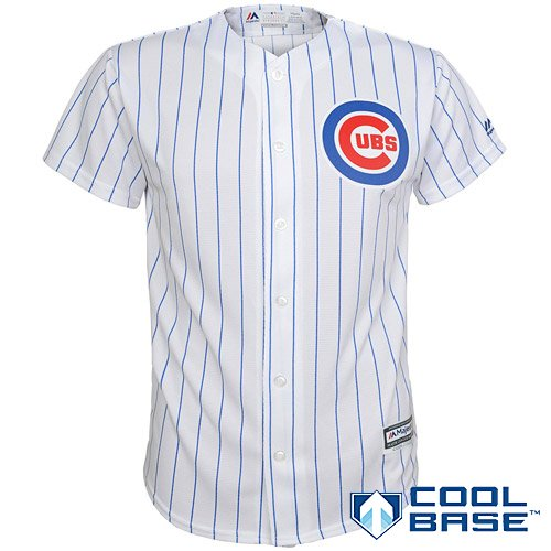 Kids Chicago Cubs Uniform (Chicago Cubs MLB Youth Cool Base Home Team Jersey White (Youth Large 14/16))