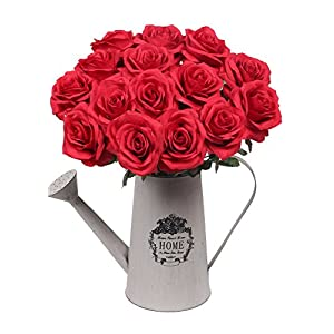 AmyHomie Artificial Flowers Silk Roses Bouquet Home Wedding Decoration 2