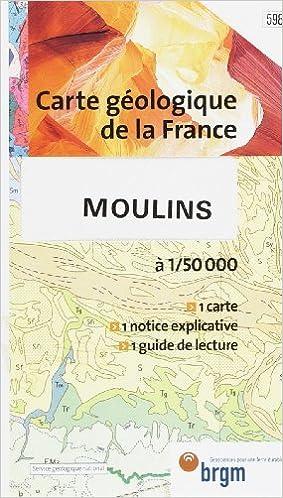 Lire en ligne Carte géologique : Moulins pdf ebook