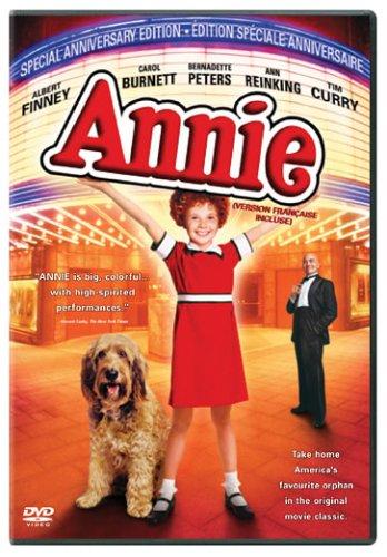 Annie (Bilingual Special Anniversary Edition) Aileen Quinn Carol Burnett Albert Finney Ann Reinking