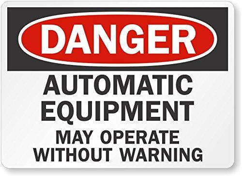 inyl OSHA Safety Sign, Legend