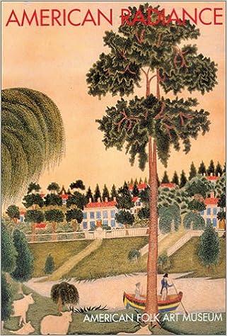 american folkart postcard book