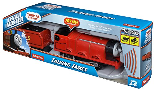 Fisher Price Thomas Amp Friends Trackmaster Talking James