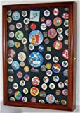 Display Case Shadow Box For Hard Rock Guitar Pins And Lapel Pins