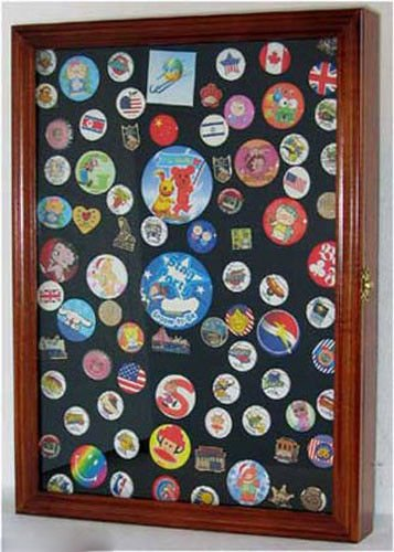 Display Case Shadow Box For Hard Rock Guitar Pins And Lapel Pins by Display Case