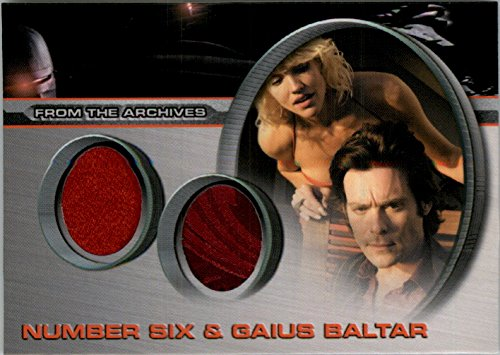 2008 Battlestar Galactica Season Three Costumes #DC3 Gaius Baltar Number Six L - NM-MT