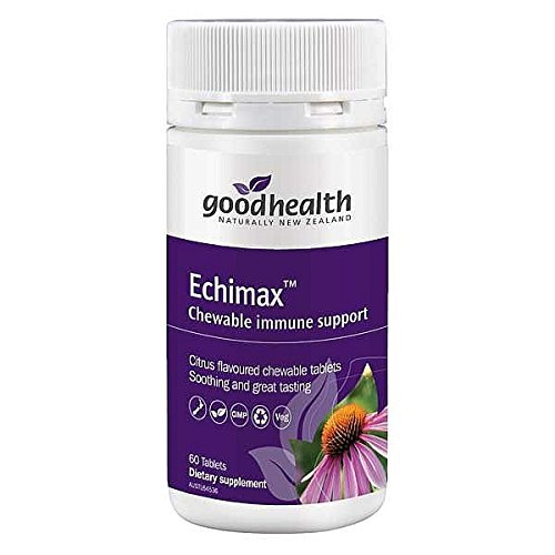 Good Health Echimax Chewable immune support 140 Tablets Supports winter wellness and low immunity, Herbal Supplements Made in ()