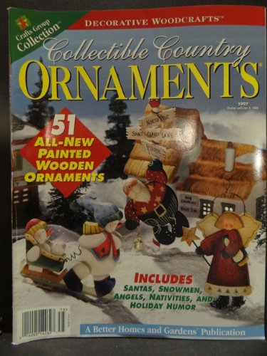 Country Collectibles Ornaments (Collectible Country Ornaments 1997)