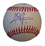 Los Angeles Dodgers Chris Taylor Autographed Hand Signed Baseball with Proof Photo, Seattle Mariners, COA