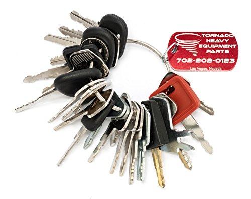 ent / Construction Ignition Key Set (Machine Key)