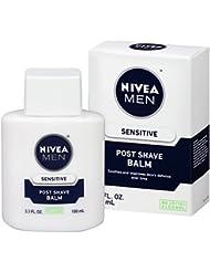NIVEA Men Sensitive Post Shave Balm 3.3 Fluid Ounce (Pack of 3)