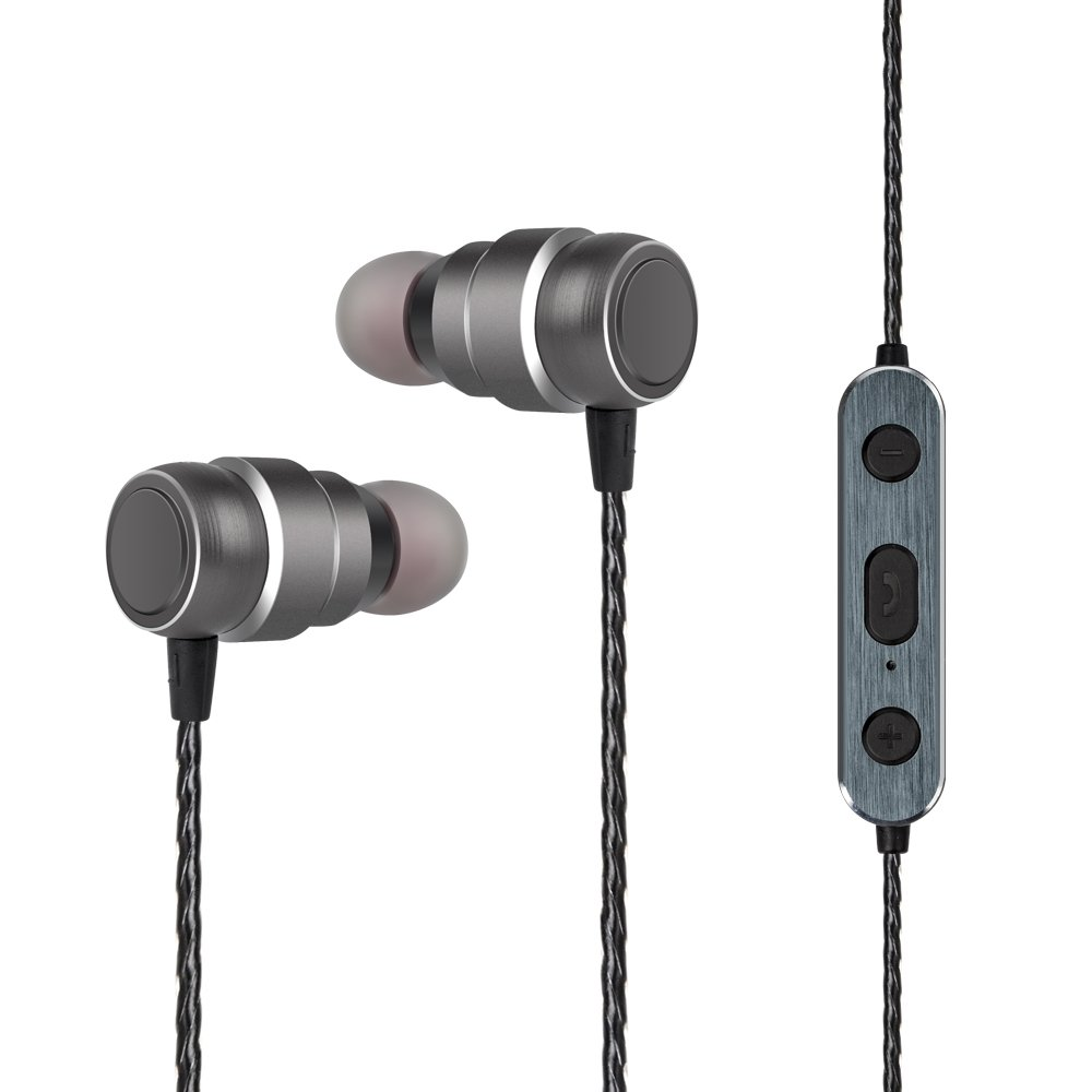 62acd08c526 Amazon.com: Bluetooth Earbuds, Topsion Magnetic Earphones In-Ear and  Necklace Secure Fit Design Sweatproof, Gray: Musical Instruments