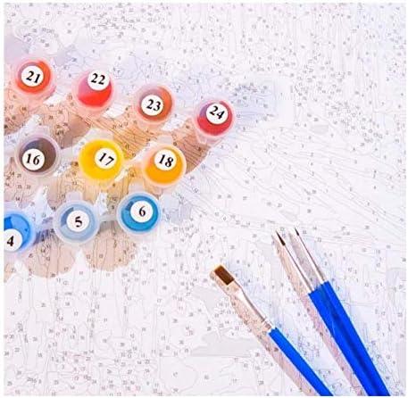 Adultos Pintura Pintura óleo Chica melodía Color Colorear Adecuado para concursos de Pintura Escolar.: Amazon.es: Juguetes y juegos