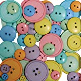 Blumenthal Lansing Company Favorite Findings 3-1/2-Ounce Big Bag of Buttons, Happy