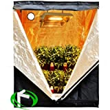 Hydroponics Indoor Grow Tent- 4×2 (48″x24″x60″) Reflective Mylar w/Aluminum Frame Review