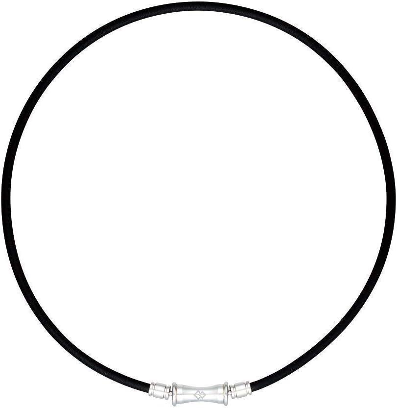 【特製フェイスタオル付き】Colantotte コラントッテ TAO ネックレス RAFFI ラフィ 正規品 ブラック L:47cm