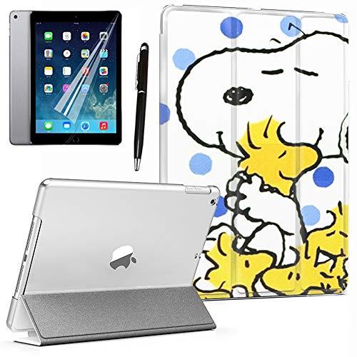 GSPSTORE iPad Mini/Mini 2/Mini 3 case Snoopy Cartoon Lightweight PU Leather Smart Auto Sleep/Wake case Also Fit iPad Mini 1/Mini 2/Mini 3#1 (Difference Between Ipad Mini 1 And 2)
