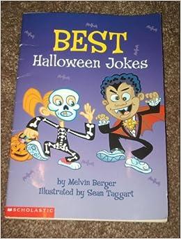 best halloween jokes melvin berger 9780439318303 amazoncom books