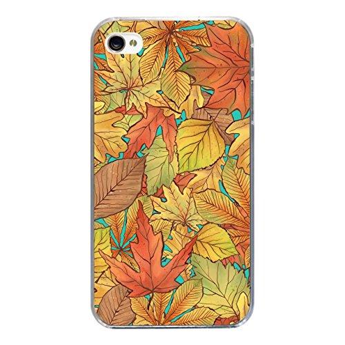 """Disagu SF-sdi-3815_1187#zub_cc3300 Design Schutzhülle für Apple iPhone 4S - Motiv """"Herbstblätter_04"""""""