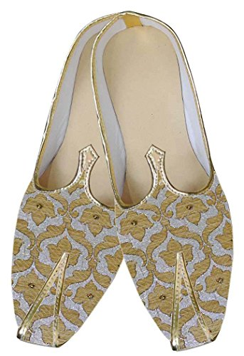 Plata Clásico INMONARCH Hombres Zapatos Novio MJ0043 E5PqPv