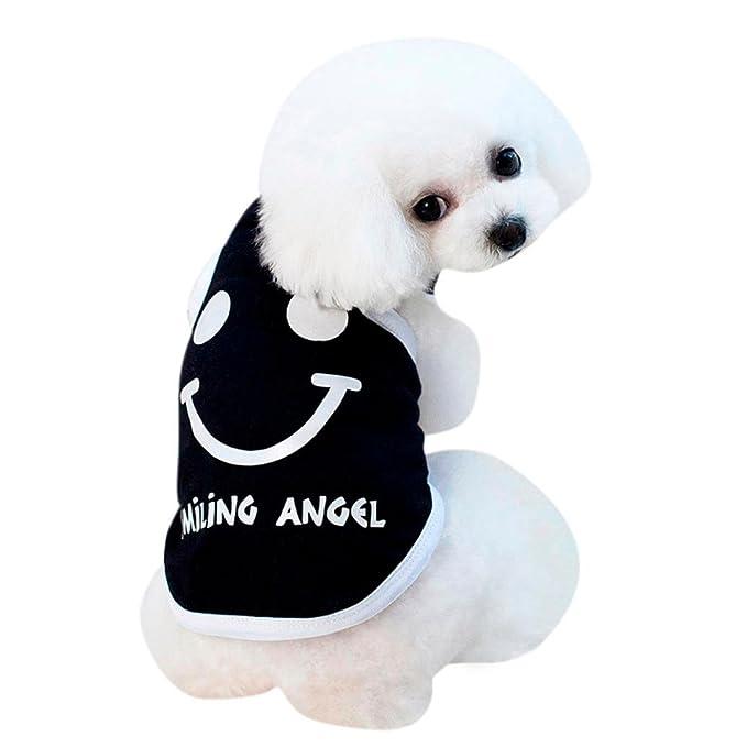 Amazon.com: howstar mascota ropa Super lindo sonriente ...