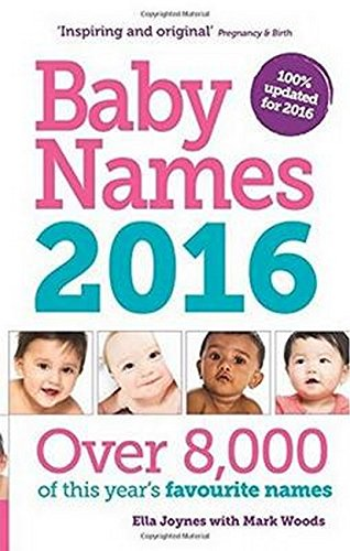 Baby Names 2016 Mark Woods