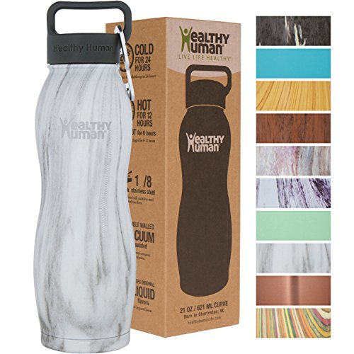 Healthy Human Curve Water Bottles