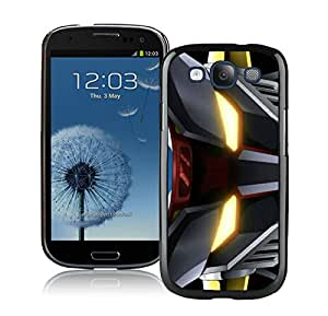 Unique And Durable Designed Case With Mazinger Z Black For Samsung Galaxy S3 I9300 Phone Case