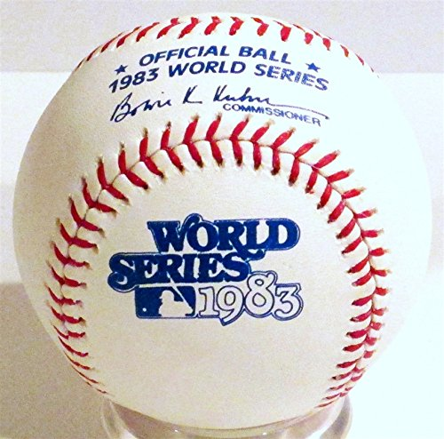 Rawlings 1983 Official World Series Game Baseball