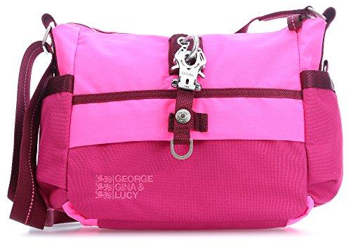George Gina & Lucy Qukoo Nylon Put Sick Borsa a spalla pink