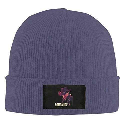 Amone Longmirey Winter Knitting Wool Warm Hat Navy