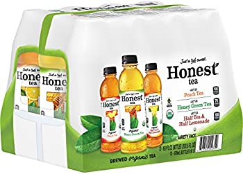 12-Pack Honest Tea Brewed Organic Tea Variety Pack Bottles
