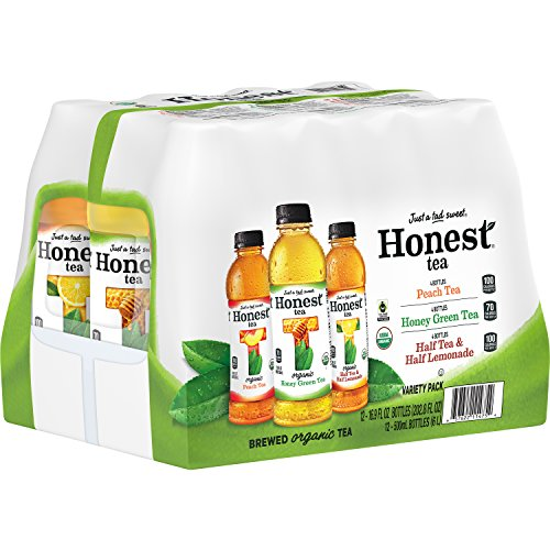 Honest Tea (Organic Tea Variety Pack, 16.9-Ounce Bottle, Pack of 12)