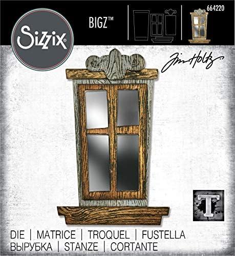 16er Pack Einheitsgr/ö/ße Sizzix 664730 Thinlits Schneidesatz Arthur Colorize von Tim Holtz