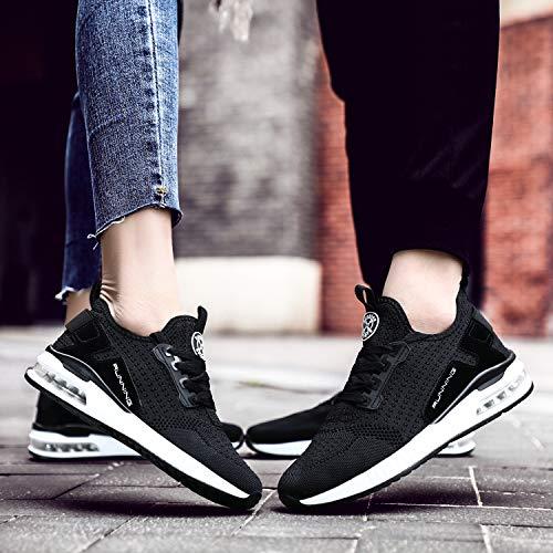 Sport Homme Fitness Tqgold® Chaussure Noir Running De Course Sneakers Basket Tennis Femme Mode gRgqnXf