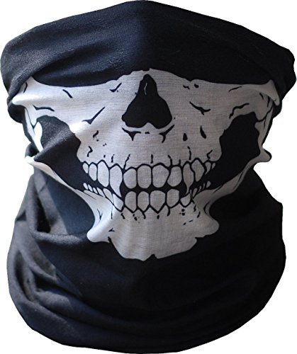 Skeleton Ghost Skull Face Mask Biker Balaclava Call of Duty COD Costume Game BOS ()