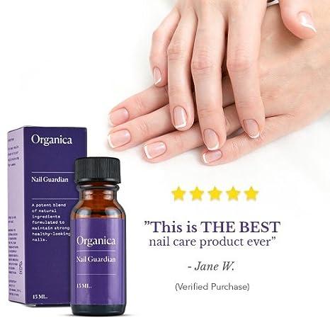 Amazon.com : Organica Wellness Nail Guardian | Repair & Strengthen ...