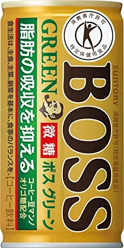 [일본 산토리 보스 캔커피 / SUNTORY BOSS COFFEE] 산토리 커피 보스 그린 185g관×30개