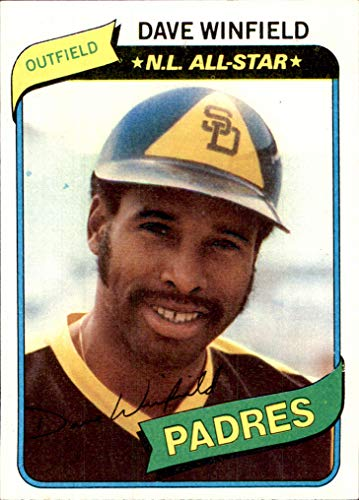 DAVE WINFIELD HOF SAN DIEGO PADRES 1980 Topps #230 (nrmt) Vintage ()