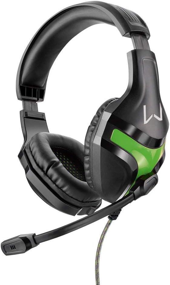 Headset Gamer Harve, Warrior, PH298, Preto/Verde