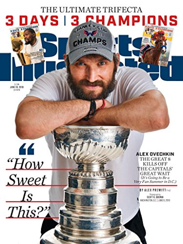 PosterWarehouse2017 ALEX OVECHKIN'S 2018 TITLE COMMEMORATED IN SPORTS ILLUSTRATED COVER POSTER
