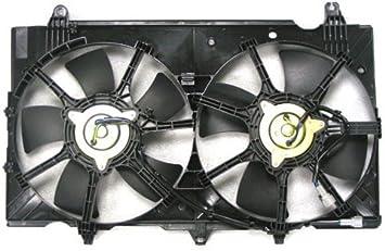 Radiator Fan Assembly For 2007-2008 Nissan 350Z TYC 621810