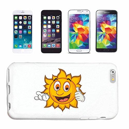 "cas de téléphone Samsung Galaxy S5 ""MERRY SMILEY SUN AS ""sourire EMOTICON APP de SMILEYS SMILIES ANDROID IPHONE EMOTICONS IOS"" Hard Case Cover Téléphone Covers Smart Cover pour Samsung Galaxy S5 en bl"