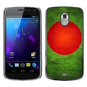 Shell-Star ( National Flag Series-Bangladesh ) Snap On Hard Protective Case For SAMSUNG Google NEXUS / I9250