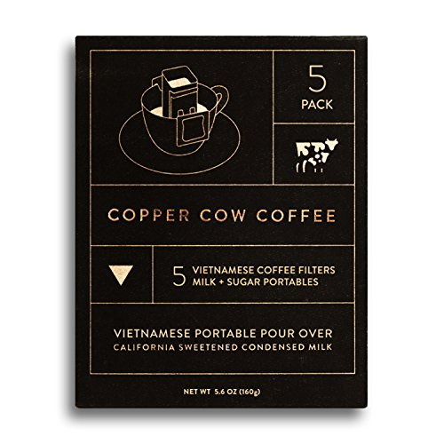 Copper Cow Coffee Vietnamese Portable Pour Over (5-pack)