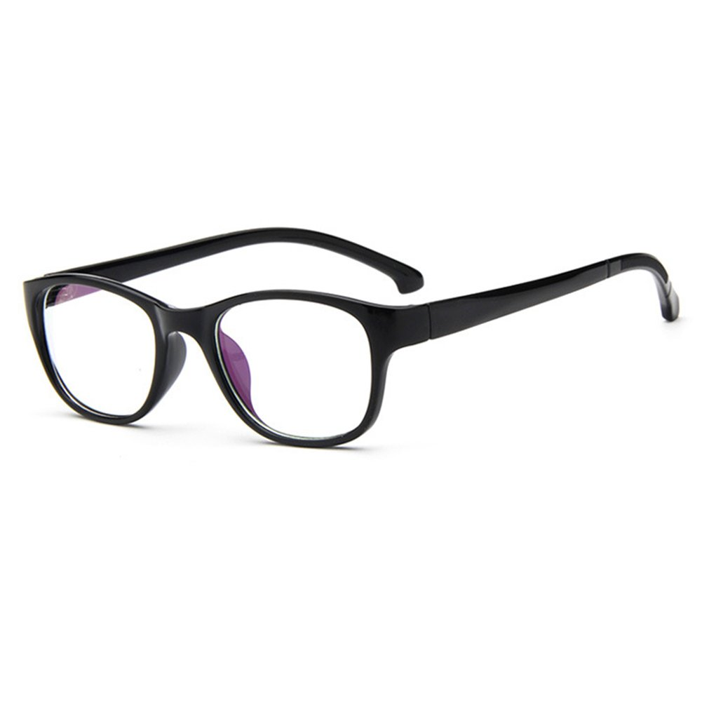 Junkai Occhiali da vista per ragazzi con lenti trasparenti + custodia per occhiali - ka17112210 X171122ETYJJ1006-ka